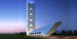 Exterior Lighting Kuwait Investment Authority