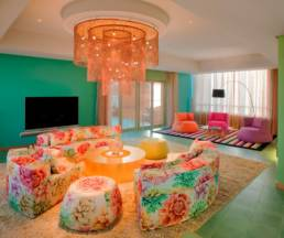 Interior lighting Missoni Hotel